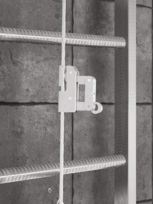 Faldsikringssystem, der er designet til brug af max. 2 brugere, mens de bevæger sig lodret