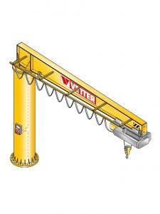Boss kranen er udviklet at løse de tungeste og vanskeligste opgaver i industrien.