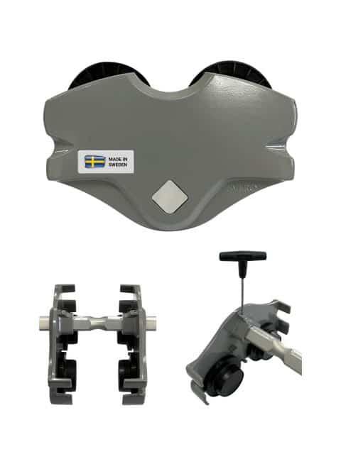 SVERO håndkædeløbekat med en kapacitet på 500-5.000 kg