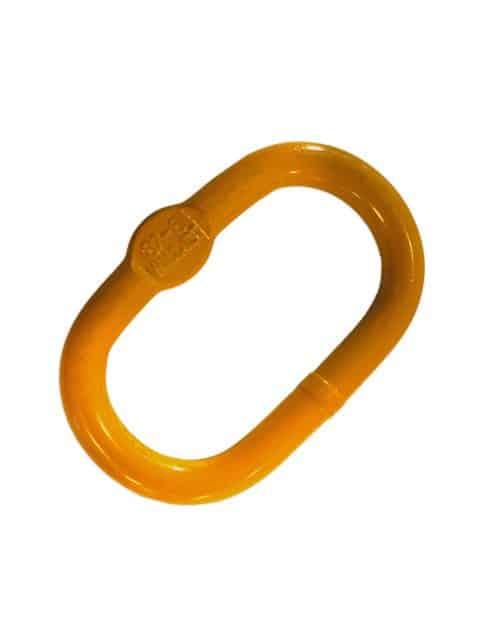 Ovalring for 1- og 2-strengs kædesæt