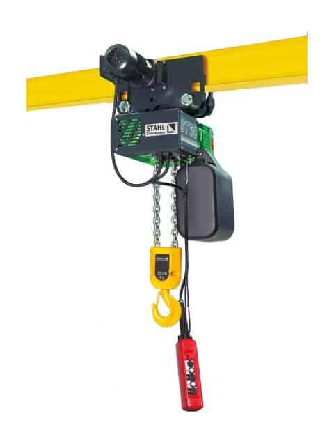 Stahl ST el-kædetalje med mange fordele for brugeren