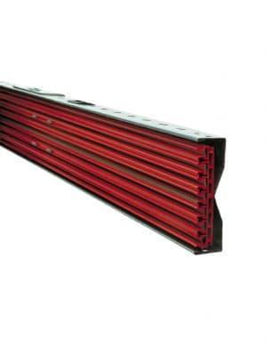 AKAPP Pro-Ductor er en flad strømskinne og kan leveres op til 10 slots