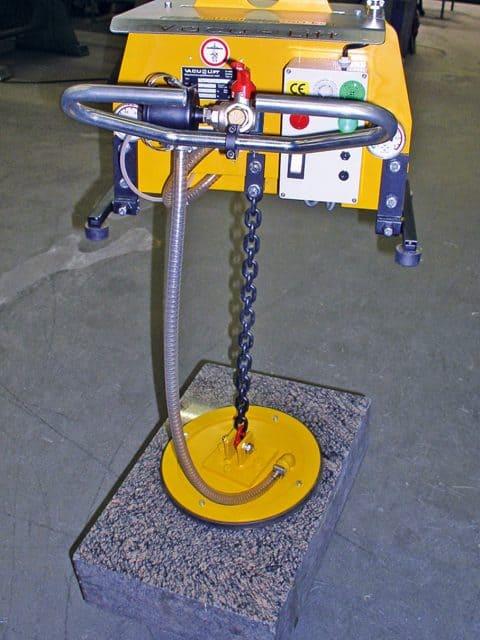 Små elektriske vakuumløftere for horisontal transport