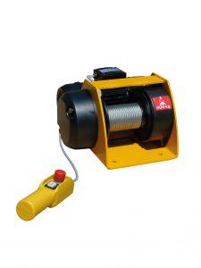 Huchez elektrisk wirespil til simple og lette træk- og løfteopgaver.