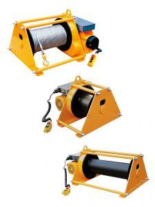 Huchez elektrisk wirespil med løfte-/trækkapaciteter op til 22 ton