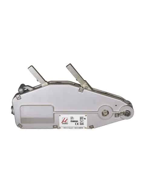 Svero wiretræk talje. Transportabelt og alsidigt værktøj for træk, løft samt opspænding og sikring af byrder over lange afstande.