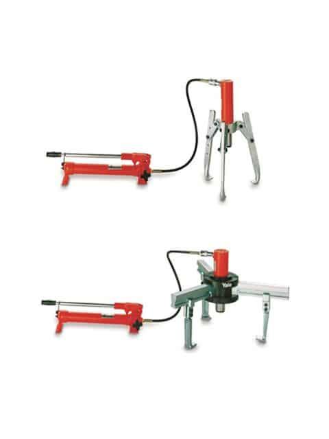 BMZ med ekstern hydraulisk donkraft og håndpumpe