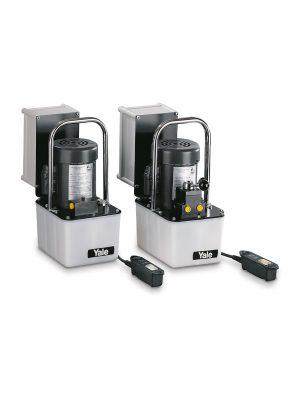 Elektrisk hydraulikpumpe - 2-trins pumper specialfremstillet til vedligeholdelses- og reparationsarbejde