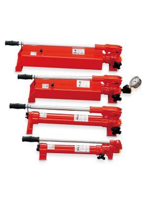 Håndpumpe for enkeltvirkende hydraulisk donkraft – type HPS