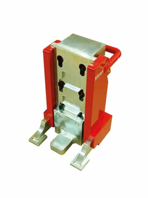ompakt maskindonkraft med fjederretur