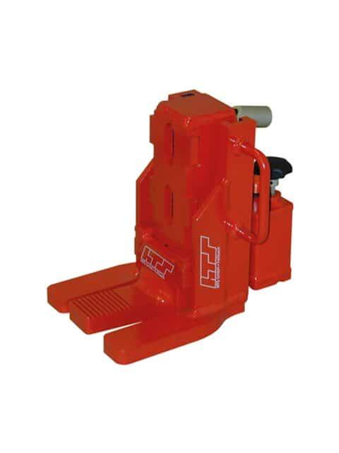 Gaffeltruckløfter med integreret pumpe