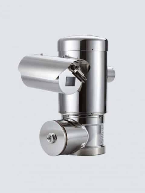 Ex-dome kameraet giver fuld visning i 360° vinkel ovenfra