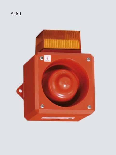 YL50 Industri lys og lyd kombination