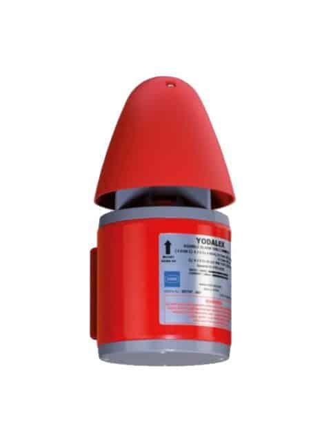 Eksplosionsbeskyttet signal lydgiver på 110 dB