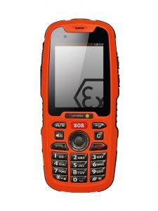 Slag- og vibrationsfast mobiltelefon