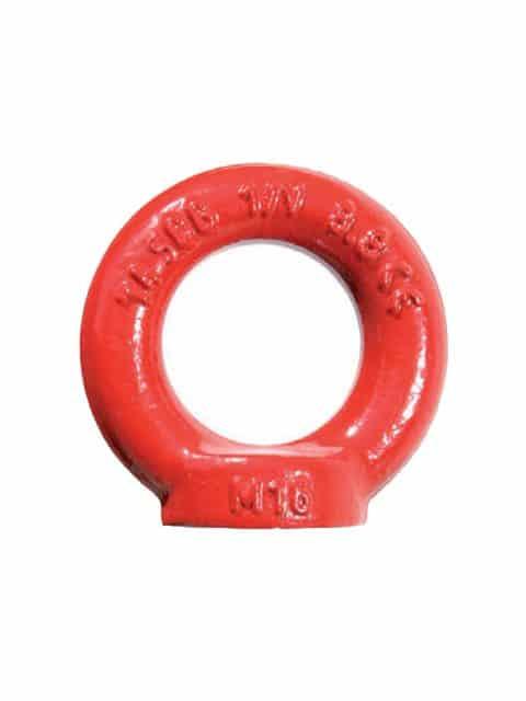Øjemøtrik type 802, som er godkendt til løft