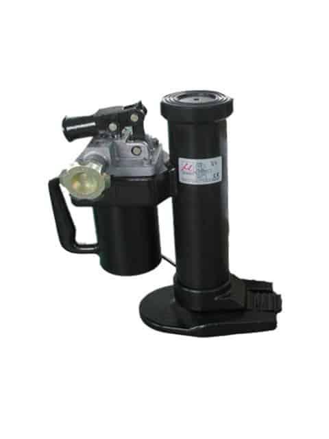 Svero hydraulisk donkraft, som kan anvendes både i horisontal og vertikal position