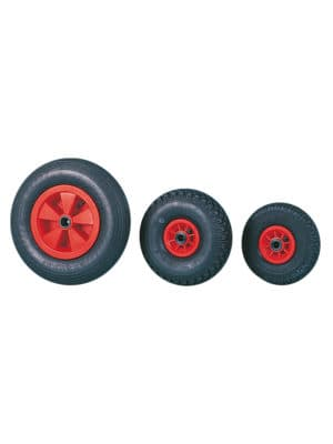 Luftgummihjul med plastfælg 94 for gaffelmontering