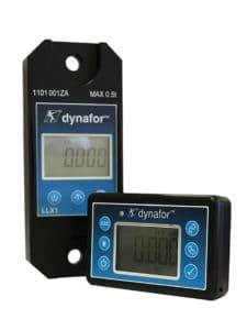 Dynafor elektronisk kranvægt til måling af trækstyrke (N) og for at bestemme aktuel vægt (kg)