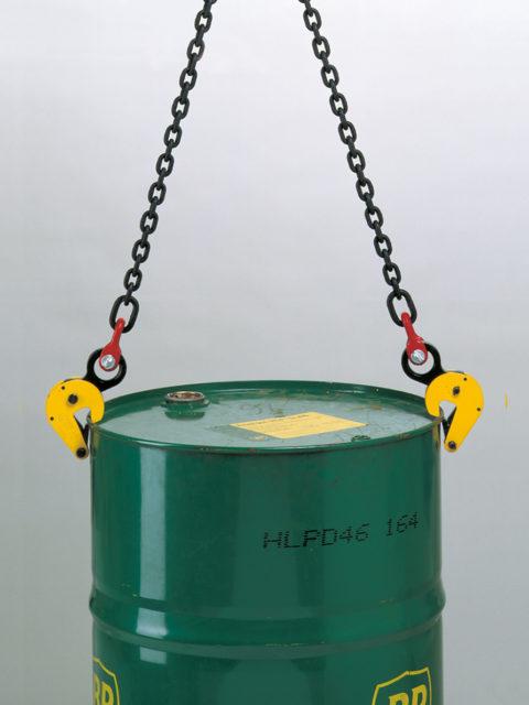TFRK tøndeløfter som kan anvendes enkeltvis eller parvis til transport af tønder